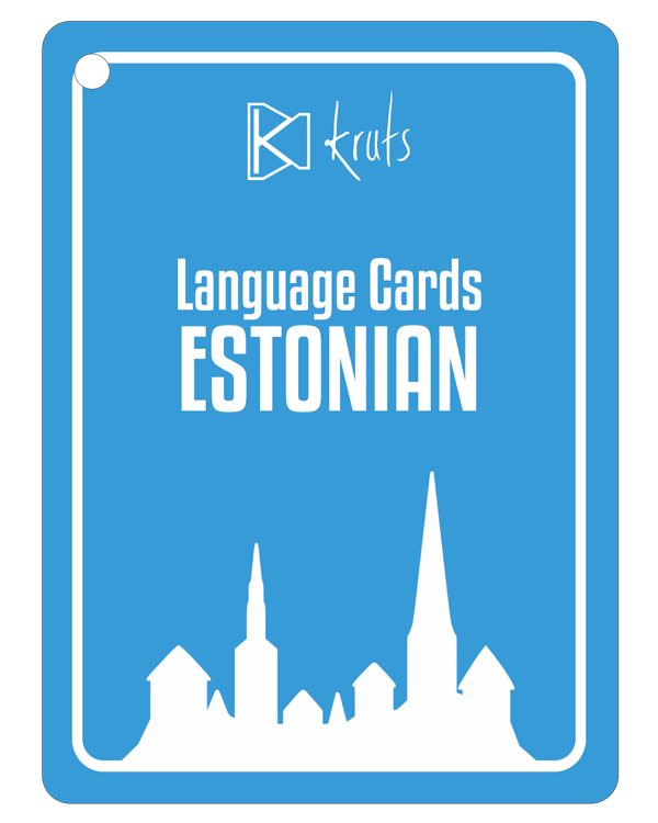 Language cards Estonian