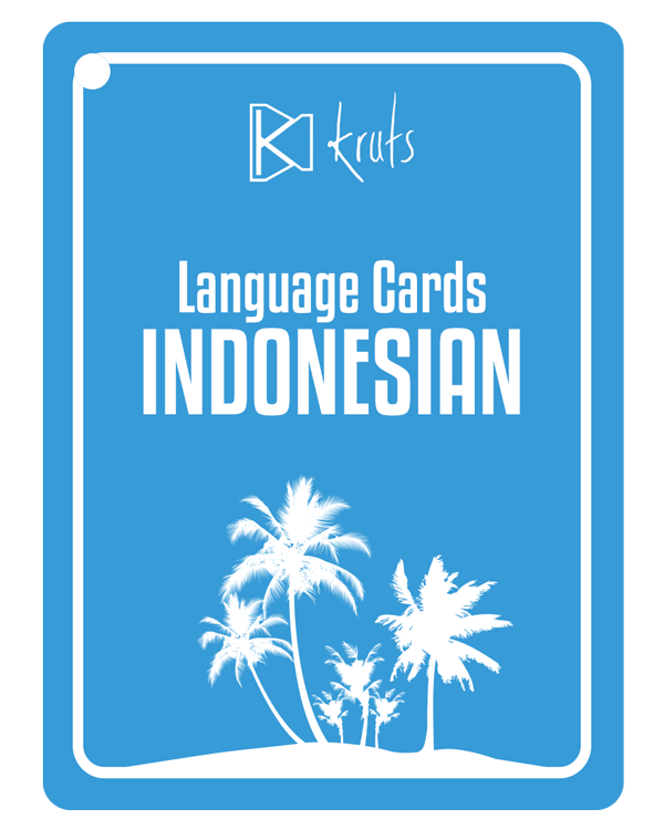 Kruts Language Cards Indonesian