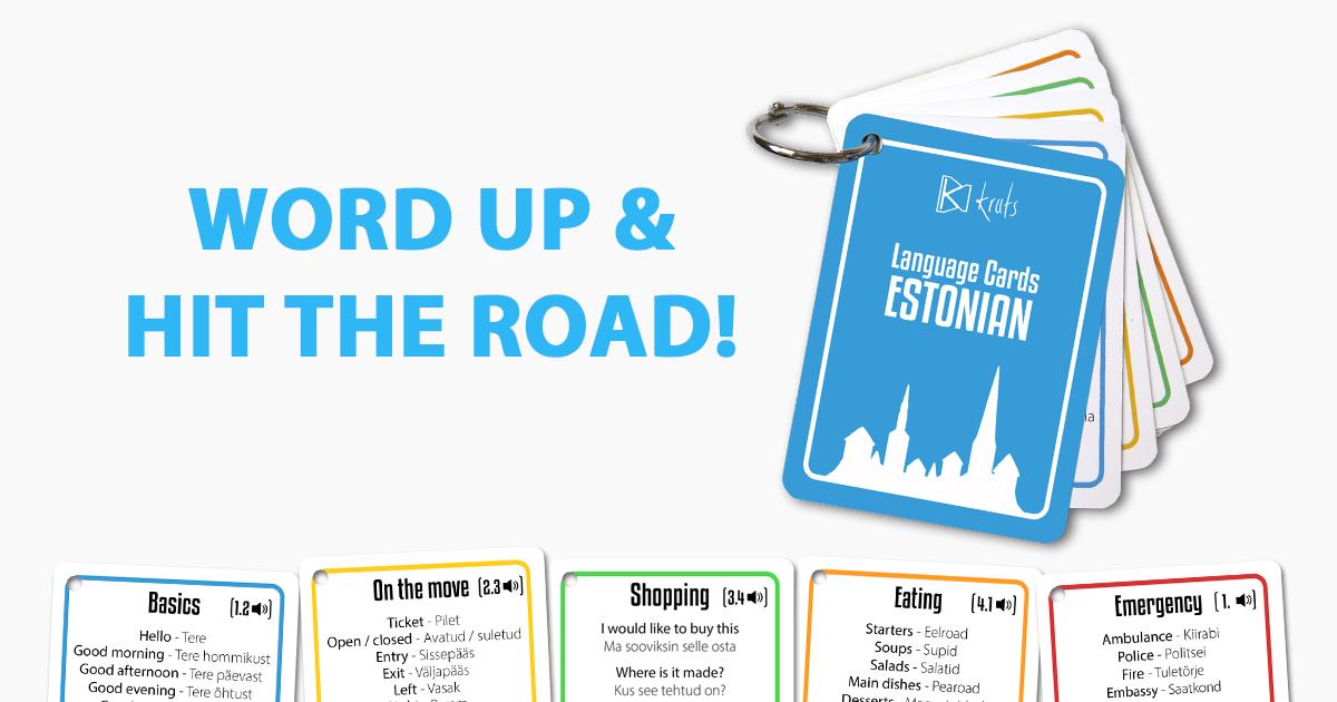 Learn Estonian Words & Phrases