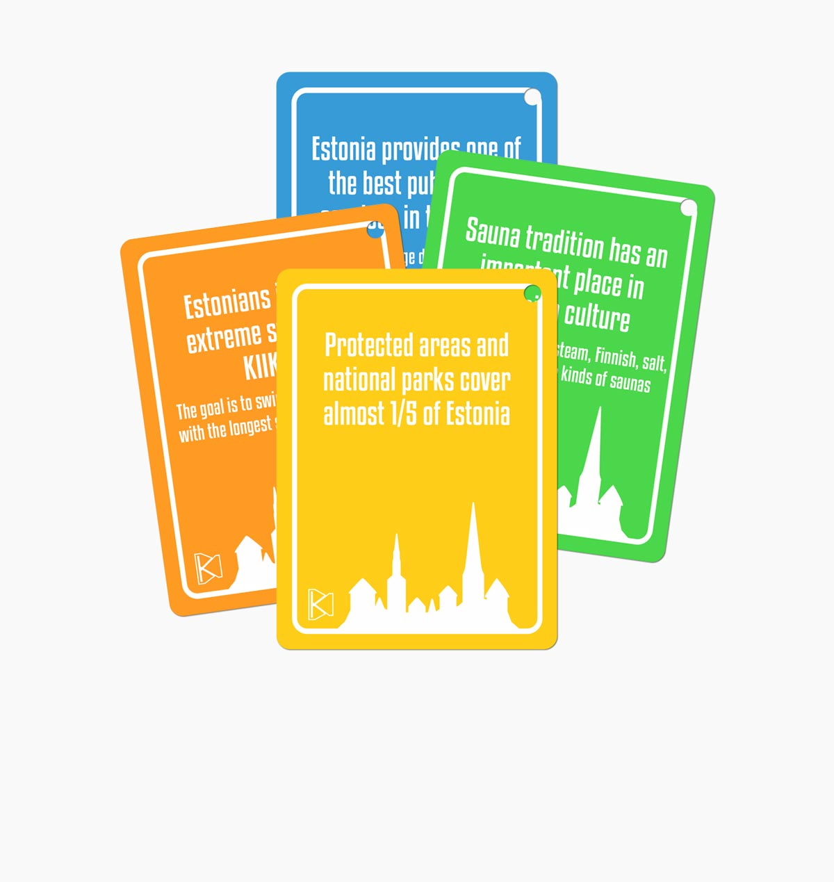 Kruts Language Cards - Practical Words & Phrases For Tourists