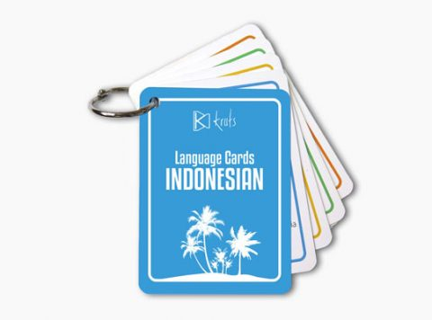Kruts Language Cards - Indonesian