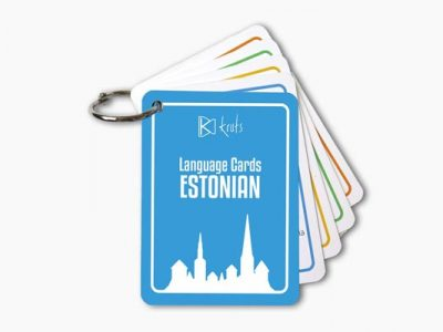 Estonian Language Cards
