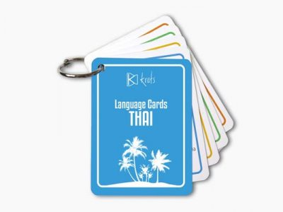 Thai Language Cards