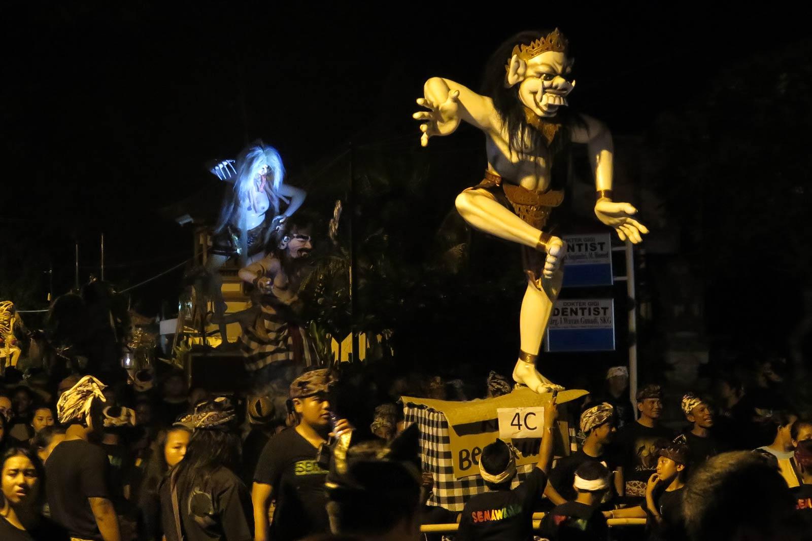 Bali uus aasta Nyepi ogoh-ogoh