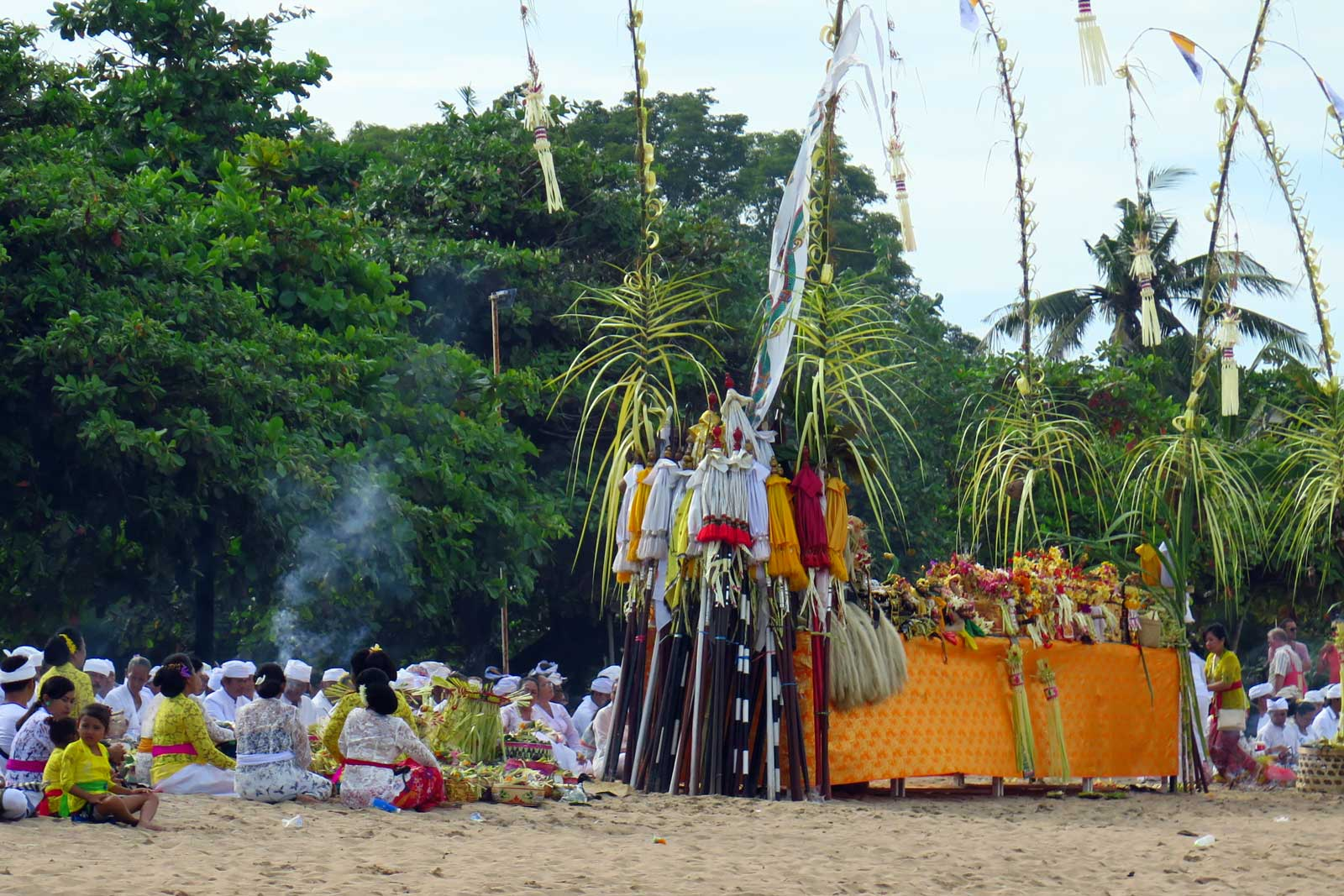Bali uusaasta tseremoonia Sanuris