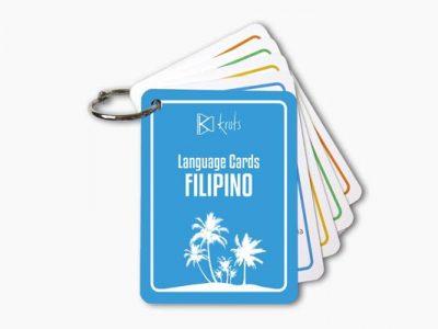 Filipino Language Cards