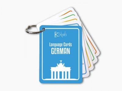 German Language Cards