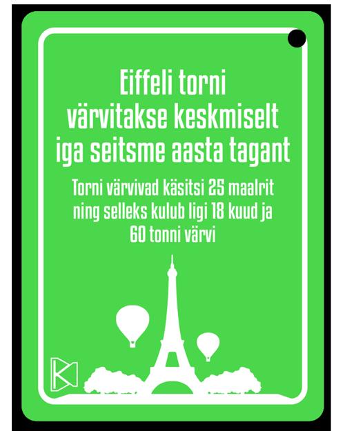 Huvitavad faktid Prantsusmaast - Eiffeli torn