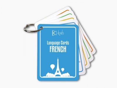 French Language Cards