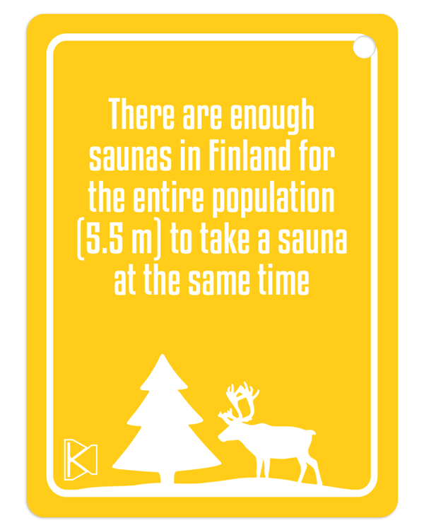 Fun facts about Finnish sauna