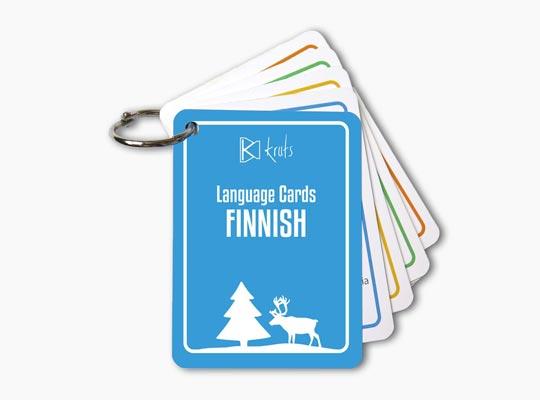 Kruts Language Cards - Finnish