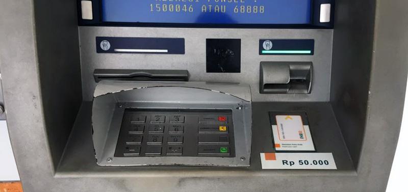 Indoneesia ja Bali pangaautomaadid