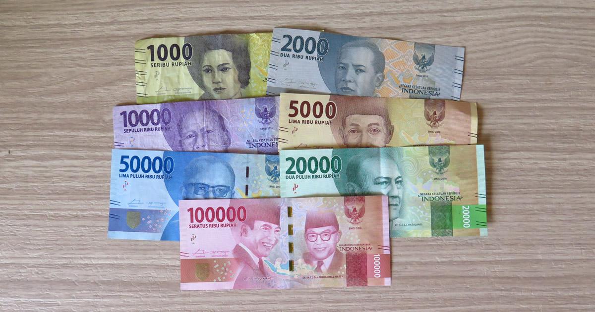 Indoneesia puhkus - valuutavahetus